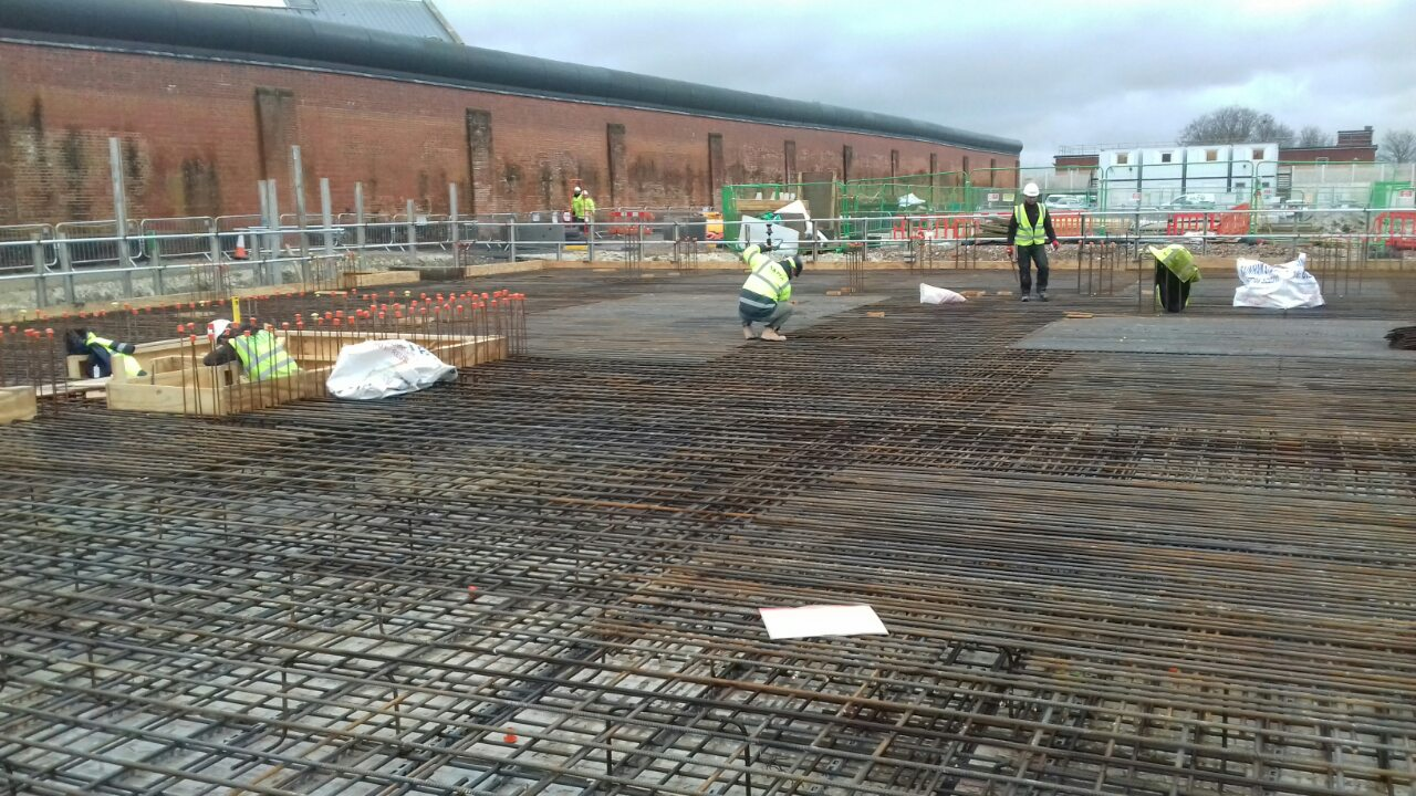 Levismar: Formwork, Groundwork, RC Frames And Steel Fixing